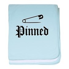 Funny Pin baby blanket