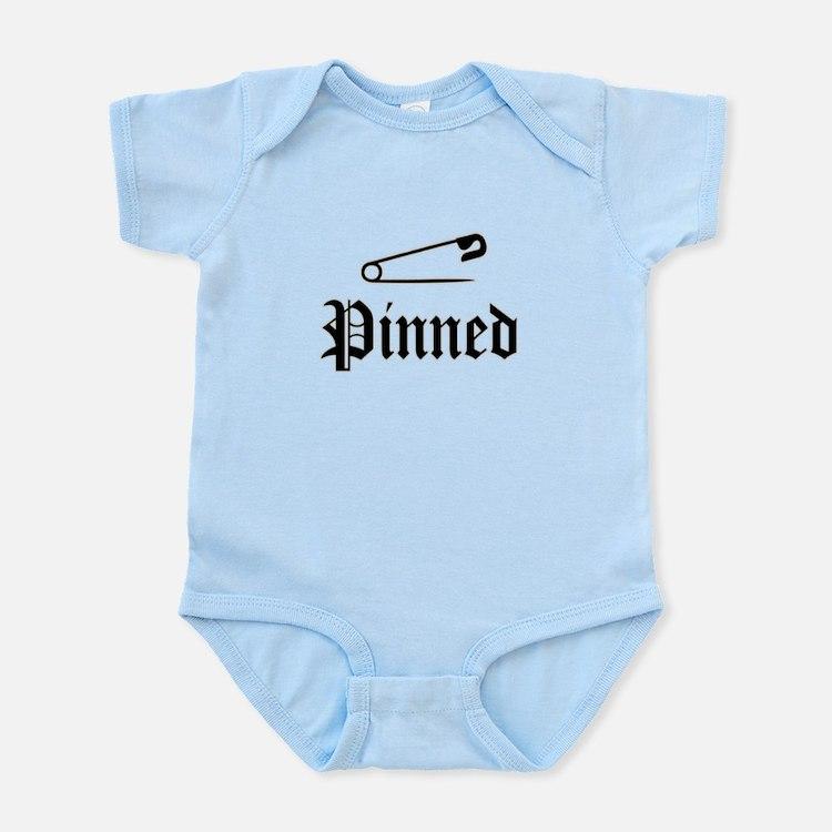 Cute Pinned Infant Bodysuit
