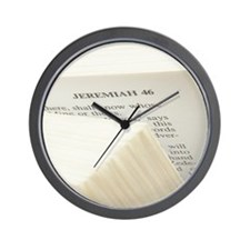 Bible Wall Clock