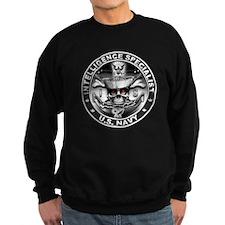 USN Intelligence Specialist S Sweatshirt