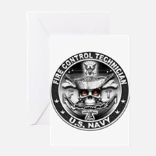 USN Fire Control Technician F Greeting Card