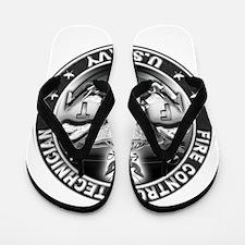 USN Fire Control Technician F Flip Flops