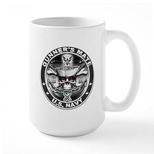 USN Gunners Mate GM Skull Don Mug