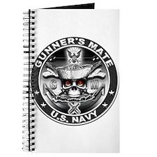 USN Gunners Mate GM Skull Don Journal