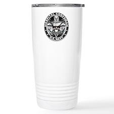 USN Hospital Corpsman Skull H Travel Mug