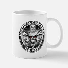 USN Hospital Corpsman Skull H Mug