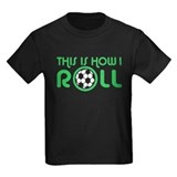 Kids soccer t shirts Kids T-shirts (Dark)