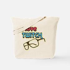 I Love Twitch Tote Bag