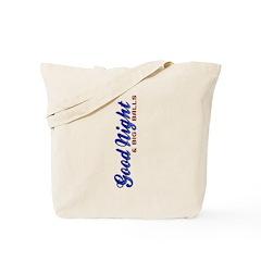 Good Night Vertical Tote Bag