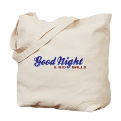 Good Night with Water Drops Tote Bag