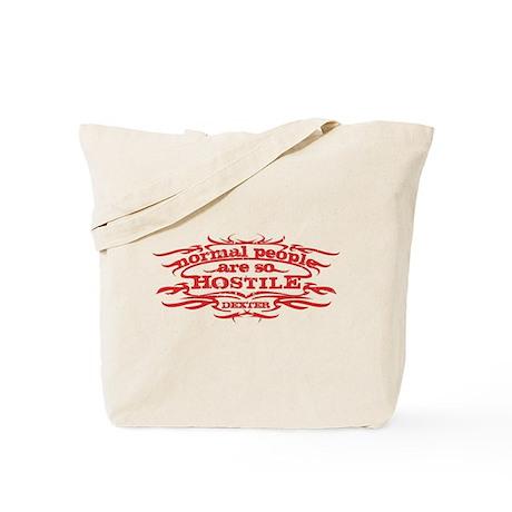 Hostile Tote Bag
