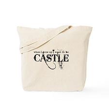 Castle Black on Tote Bag