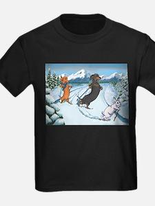 Ski Dachshunds T