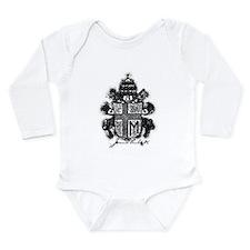 Pope John Paul II Long Sleeve Infant Bodysuit