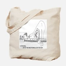 Life at the Nano Technology Factory Tote Bag