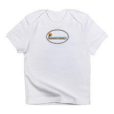 Nantucket MA - Oval Design Infant T-Shirt
