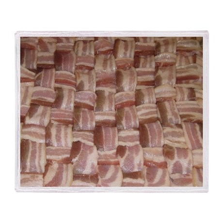 Bacon Weave Throw Blanket