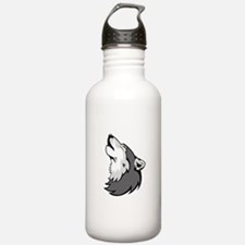 Wolf design Water Bottle