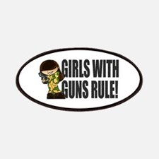 Girls With Guns Rule Patches