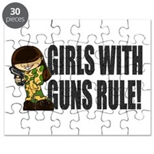 Girls With Guns Rule Puzzle