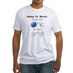 Bowling For Morons Fitted T-Shirt