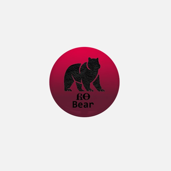 Yonah - Cherokee Brother Bear Mini Button