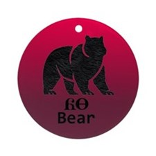 Yonah - Cherokee Brother Bear Ornament (Round)