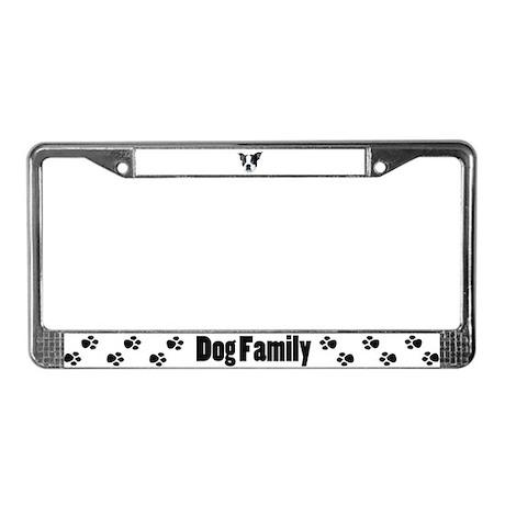 Boston Terrier License Plate Frame
