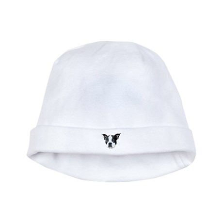Boston Terrier baby hat