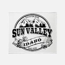 Sun Valley Old Circle Throw Blanket