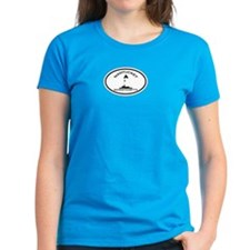 Nantucket MA - Oval Design Tee