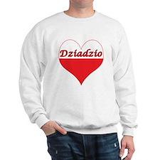 Dziadzio Polish Heart Sweatshirt