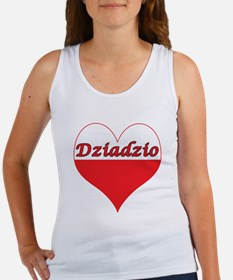 Dziadzio Polish Heart Women's Tank Top