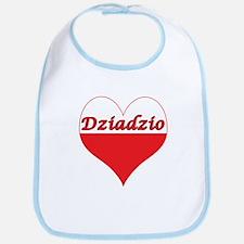 Dziadzio Polish Heart Bib