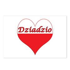 Dziadzio Polish Heart Postcards (Package of 8)