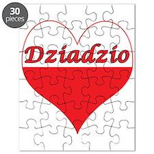 Dziadzio Polish Heart Puzzle