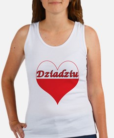 Dziadziu Polish Heart Women's Tank Top