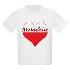 Dziadziu Polish Heart T-Shirt