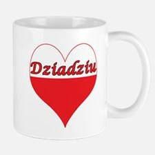 Dziadziu Polish Heart Mug