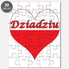 Dziadziu Polish Heart Puzzle