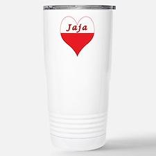Jaja Polish Heart Stainless Steel Travel Mug