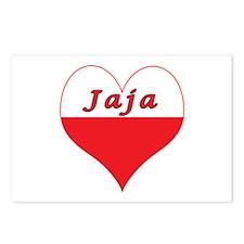 Jaja Polish Heart Postcards (Package of 8)
