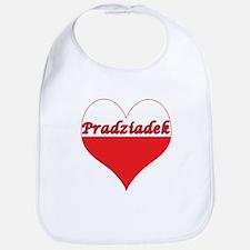 Pradziadek Polish Heart Bib