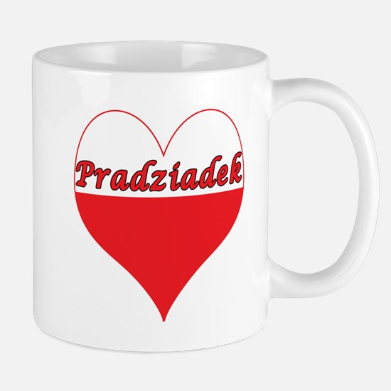 Pradziadek Polish Heart Mug