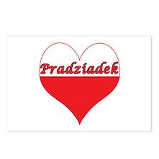 Pradziadek Polish Heart Postcards (Package of 8)