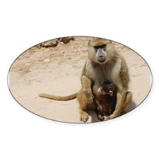 Baboon with Baby Decal