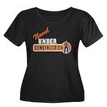 Novel Under Construction Women's Plus Size Scoop N