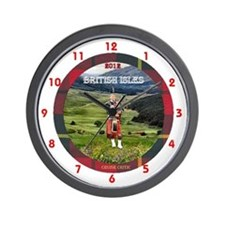 British Isles - Wall Clock