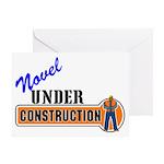 Novel Under Construction Greeting Card