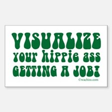 Visualize Getting Your Hippie Decal